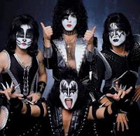 Cover Shoot for the band KISS