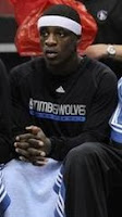 Jonny Flynn on the Bench - Will he stay there? Pay $5 for a Timberwolves Ticket and see for yourself.