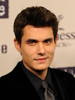 John Mayer on the red carpet