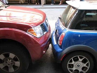 Parking Near the Target Center could get tight like this during Target Center and Target Field events