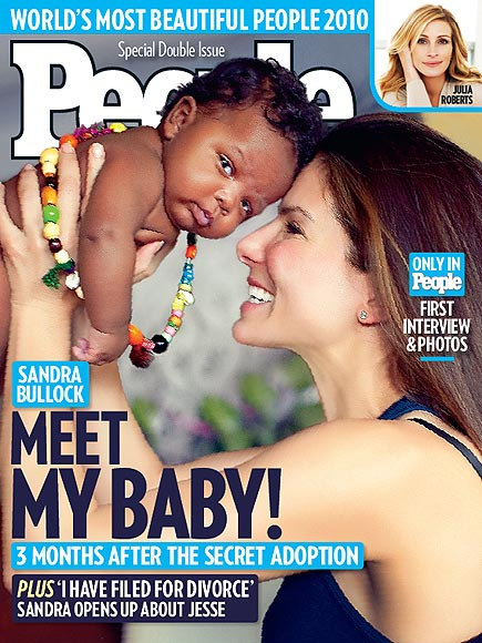 * UPDATE*Sandra Bullock Adopted A Baby Boy…..And He's BLACK!!!