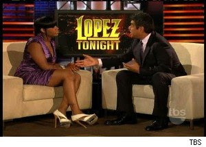Fantasia Barrino Opens Up To George Lopez (VIDEO)