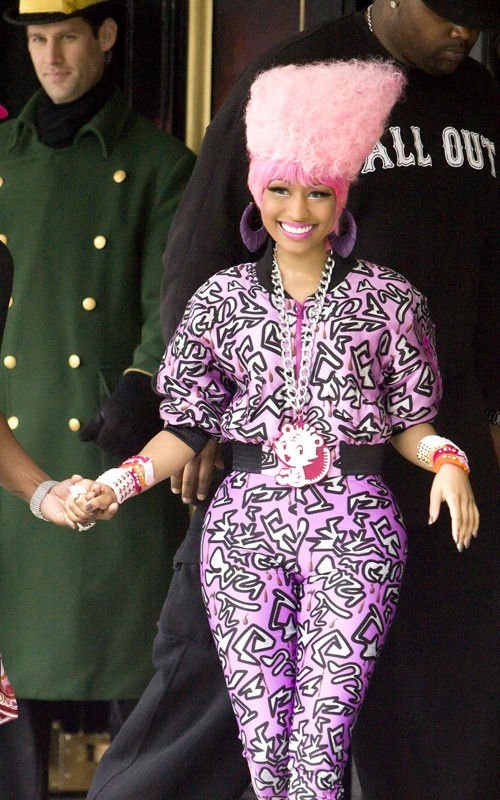 "Nicki Minaj Takes Us Back-In-The-Day With Her ""Gumby Hairdo"""