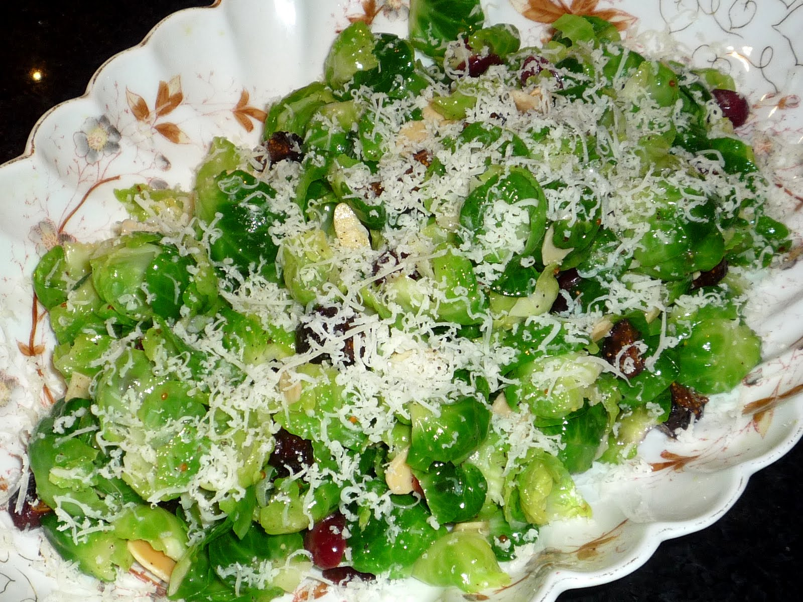 Dishing It Out: Brussels Sprout Salad with Mustard Vinaigrette
