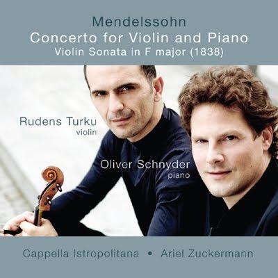 Mendelssohn por Rudens Turku y Oliver Schnyder en Aviè