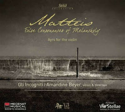 Matteis por Amandine Beyer y Gli Incogniti