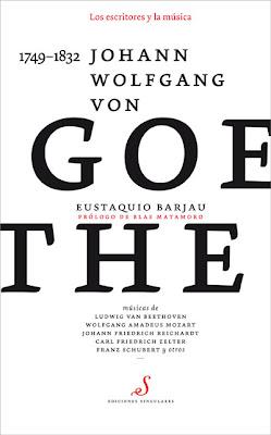 Goethe en la colección Los escritores y la música