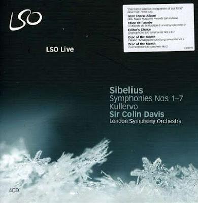 Sinfonías de Sibelius por Colin Davis en LSO Live