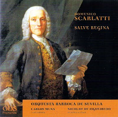 Scarlatti por la OBS dirigida por Nicolau De Figueiredo en OBS Prometeo