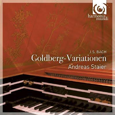 Las Variaciones Goldberg de Bach por Andreas Staier en HM