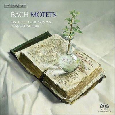 Los motetes de Bach por Masaaki Suzuki en Bis