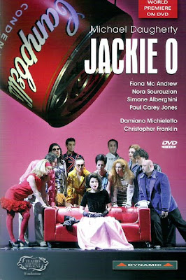 Jackie O de Michael Daugherty en Bolonia recogido por el sello Dynamic