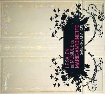 La salon de musique de MArie-Antoinette por Sandrine Chatron y amigos