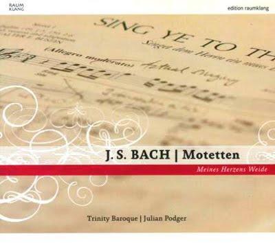 Motetes de Bach por Trinity Baroque