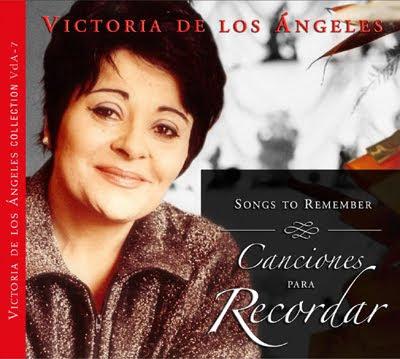 Canciones para recordar con Victoria de los Ángeles