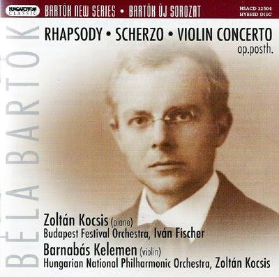 Bartók joven en Hungaroton