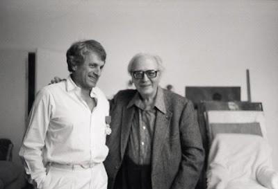 Olivier Messiaen con Iannis Xenakis