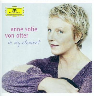 Anne Sofie von Otter en su elemento