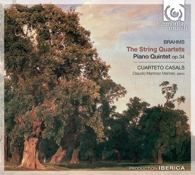 Brahms por el Cuarteto Casals