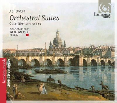 Bach por Akademie für Alte Musik Berlin (Disco catálogo 2008-09)