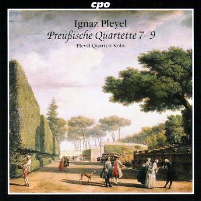 Cuartetos de Pleyel por el Cuarteto Pleyel
