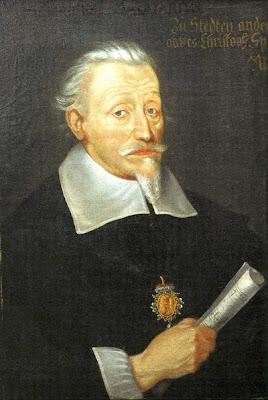 Heinrich Schütz por Christoph Spetner