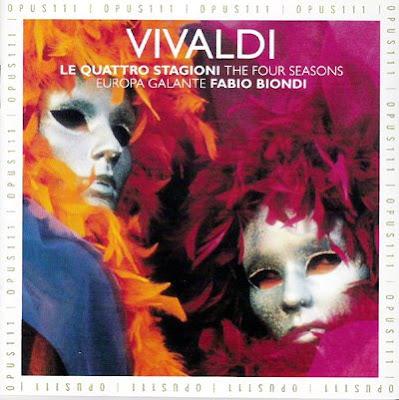 Las cuatro estaciones de Fabio Biondi (versiónde 1991)