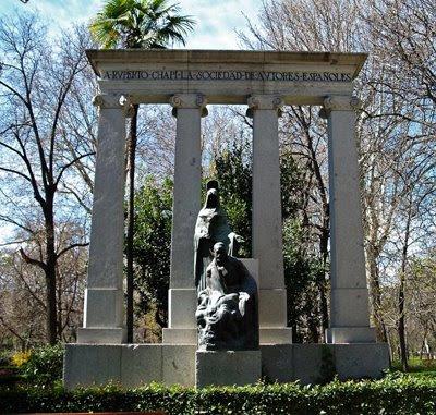 Monumento a Chapí en Madrid (Fuente: fotomadrid.com)