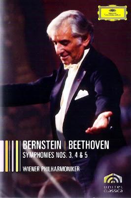 Sinfonías 3, 4 y 5 de Beethoven por Bernstein