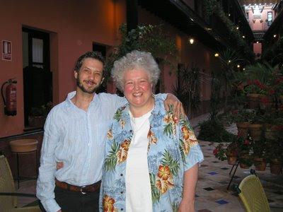 Monica Huggett con Ventura Rico