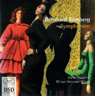 Sinfonías de Bernhard Romberg por la Kölner Akademie