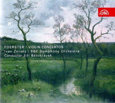 Conciertos de Foerster en Supraphon