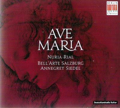 Ave Maria por Nuria Rial y Bell'Arte Salzburg en Berlin Classics