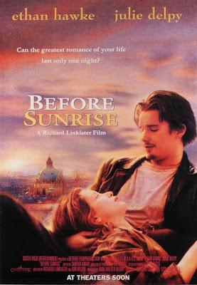 Un cartel de Before Sunrise