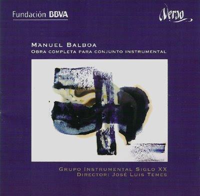 Obra para conjunto instrumental de Manuel Balboa por Temes