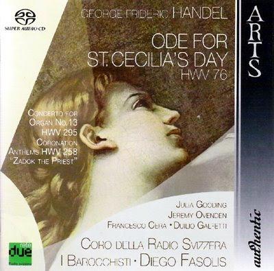 La Oda a Santa Cecilia de HAendel por Fasolis