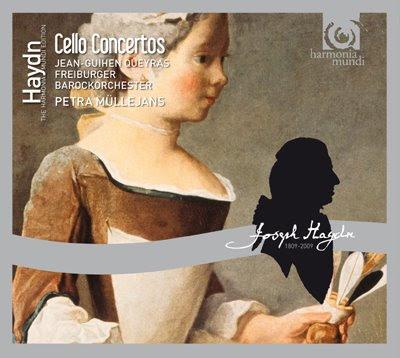 Conciertos para cello de Haydn y Monn por Queyras y los freiburger Barockorchester