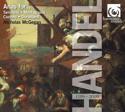 Arias de Haendel - Nicholas McGegan