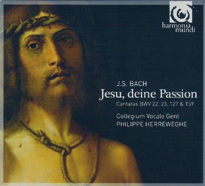 Jesu, deine Passion, el nuevo Bach de Herreweghe