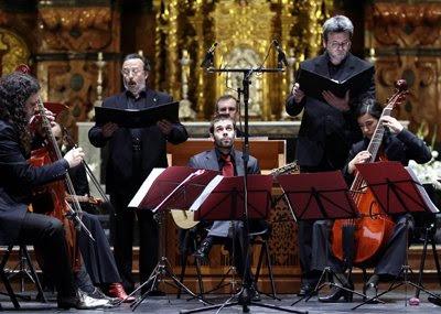 Accademia del Piacere en el concierto de apertura del Femàs'09 (© Juan Carlos Muñoz / Diario de Sevilla)