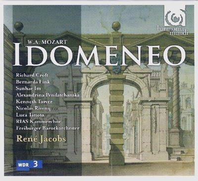 El IDomeneo de Mozart por René Jacobs en Harmonia Mundi