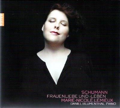 Marie-Nicole Lemiexu canta lieder de Schumann en Naïve