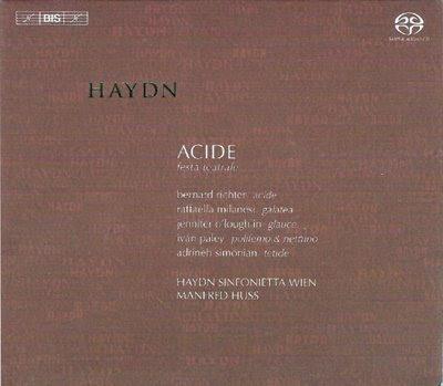 Acide de Haydn por Manfred Huss en Bis