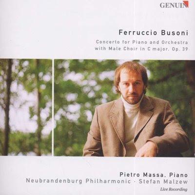 Concierto de Busoni por Massa y Malzew