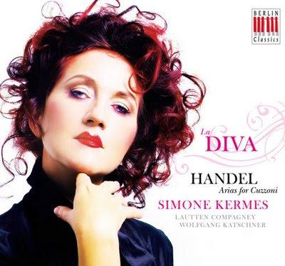 La Diva. Arias para Cuzzoni por Kermes