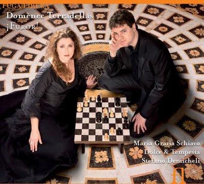 Maria Grazia Schiavo y el conjunto Dolce & Tempesta dedican en Fuga Libera un disco a Domingo Terradellas