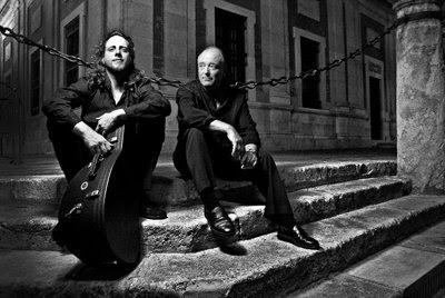Ariel Abramovich y John Potter (© Paulo Ramalho)