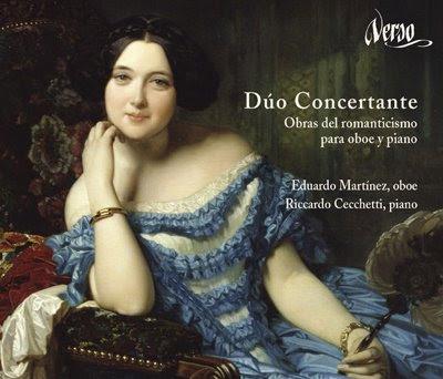 Obras románticas para oboe y piano en Verso