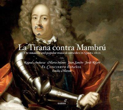 la Tirana contra Mambrú, segundo CD de El Concierto Español en Glossa