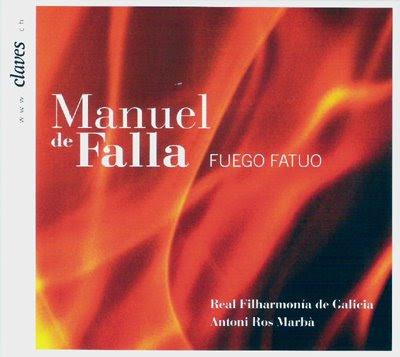 Ros Marbà graba música de Falla para el sello Claves